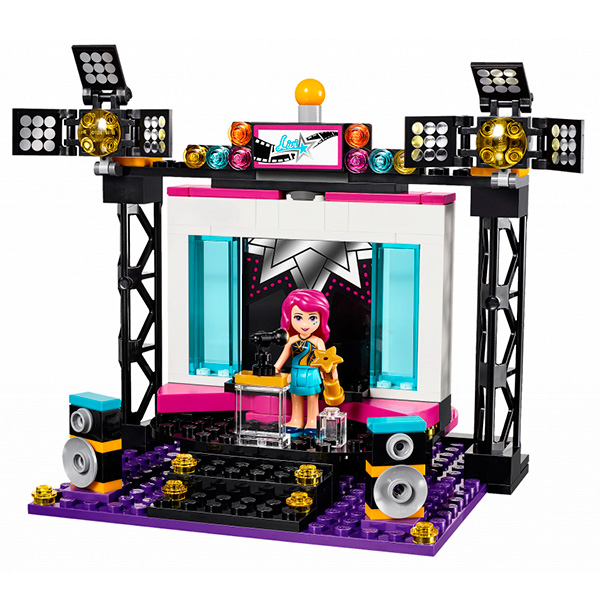 Lego Friends 41117 Конструктор Поп-звезда: телестудия