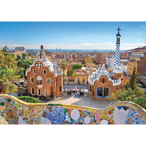 """Educa 17966 Пазл 1000 деталей """"Вид на Барселону из парка Гуэля"""""""