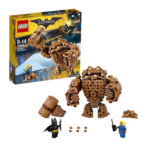 Lego Batman Movie 70904 Конструктор Лего Фильм Бэтмен: Атака Глиноликого lego batman movie блокнот бэтмен96 листов в линейку