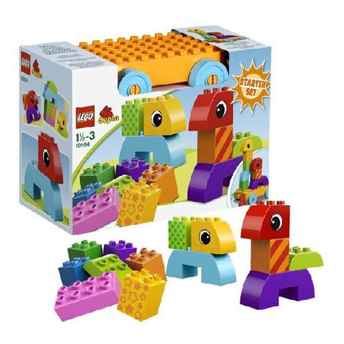 Конструктор Lego Duplo 10554 Лего Дупло Веселая каталка с кубиками