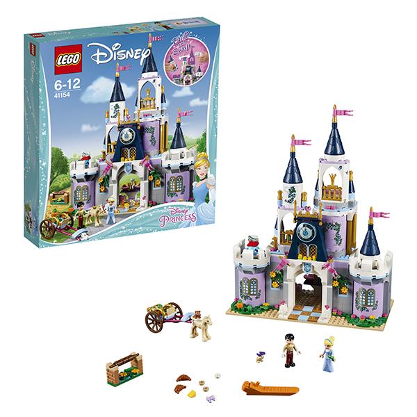 Lego Disney Princess 41154 Конструктор Лего Принцессы Дисней Волшебный замок Золушки конструктор lego disney princess 41154 волшебный замок золушки