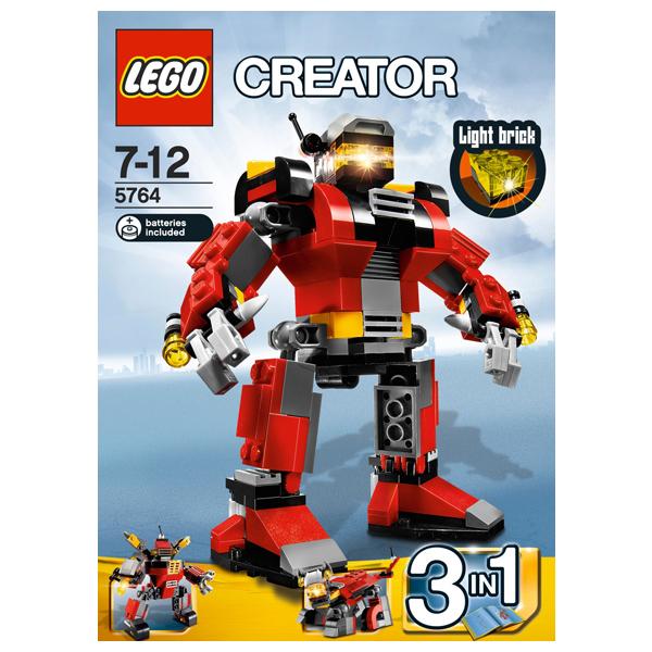 Конструктор Lego Creator 5764 Конструктор Робот-спасатель