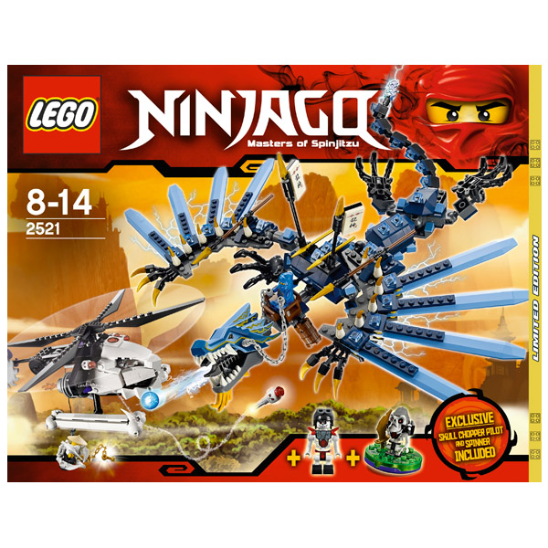 Lego Ninjago 2521 Конструктор Лего Ниндзяго Битва Дракона-Молния