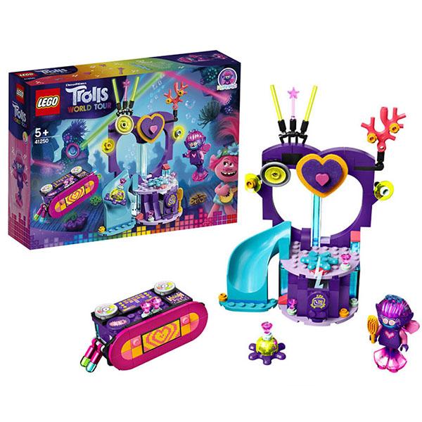 LEGO Trolls 41250 Конструктор ЛЕГО Тролли Вечеринка на Техно-рифе игрушка trolls тролли в закрытой упаковке b6554eu4