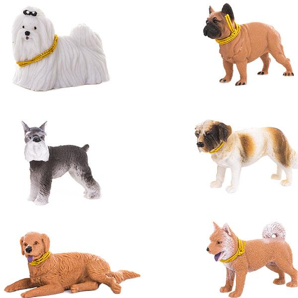 HGL SV13998 Фигурка собачки 5-10 см (в ассортименте) игрушка pet club parade фигурка собачки в комплекте с косточкой и поводком