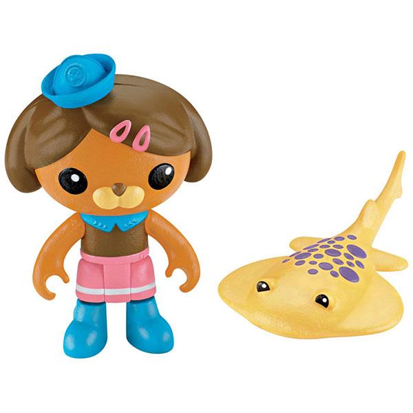 Mattel Octonauts V1381 Октонавты Фигурки персонажей с аксессуарами, в ассортименте