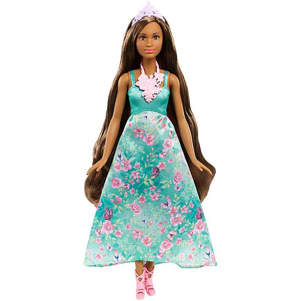 Mattel Barbie DWH43 Барби Принцесса с волшебными волосами mattel кукла принцесса barbie с волшебными волосами