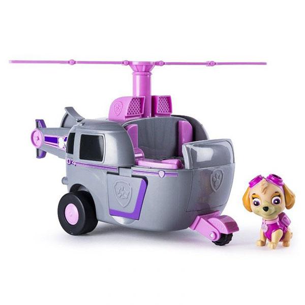 Paw Patrol 16704-p Щенячий патруль Машина-трансформер со звуком розовая paw paw футболка paw paw с 2252 белый розовый
