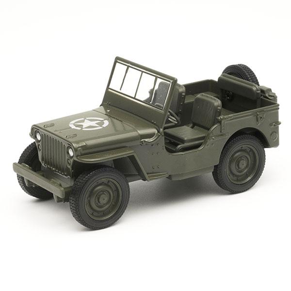 коллекционные машинки Welly 99191 Велли Военный автомобиль