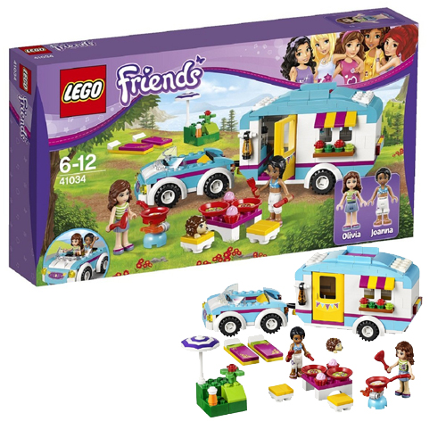 Лего Подружки 41034 Конструктор Летний фургон