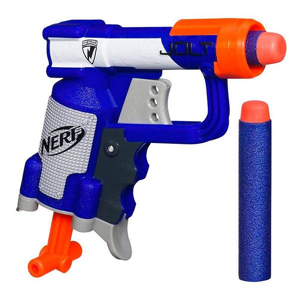 Hasbro Nerf A0707 Нерф Бластер Элит Джолт игрушечное оружие nerf hasbro бластер элит разрушитель