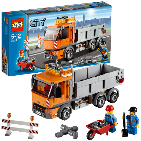 Lego City 4434 Конструктор Лего Город Самосвал