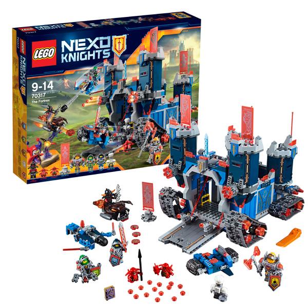 Lego Nexo Knights 70317 Лего Нексо Фортрекс - мобильная крепость ластики lego набор ластиков 4 шт lego nexo knights рыцари нексо