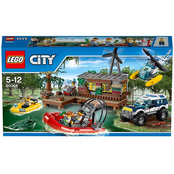 Lego City 60068 Конструктор Лего Город Секретное убежище воришек