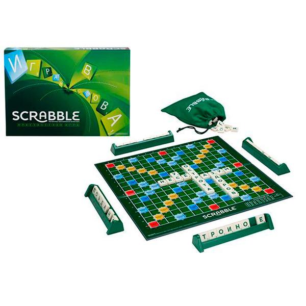 SCRABBLE Y9618 Скрабл классический scrabble cjt18 скрабл travel refresh