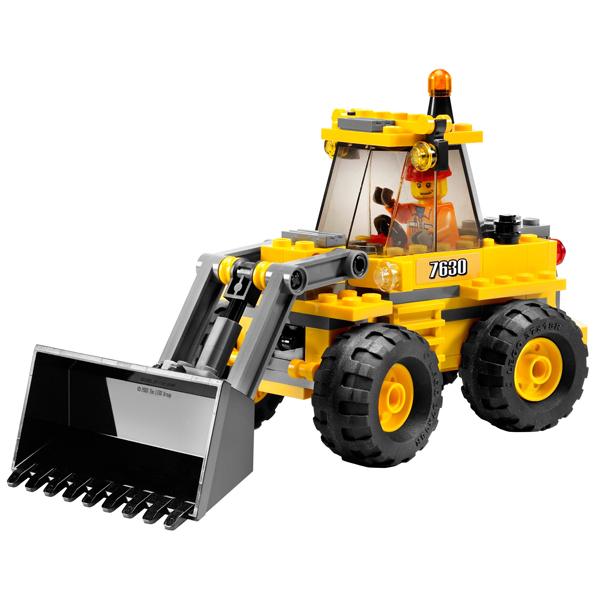 LEGO City 7630 Конструктор ЛЕГО Город Фронтальный погрузчик