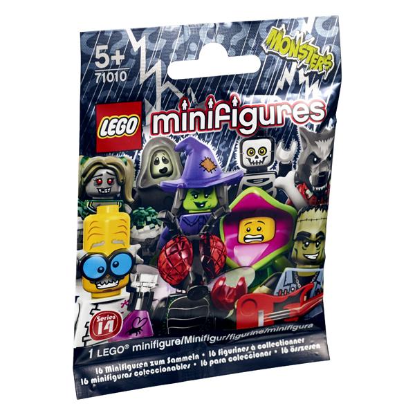 Lego Minifigures 71010 Конструктор Лего Минифигурки Серия 14 Случайная минифигурка