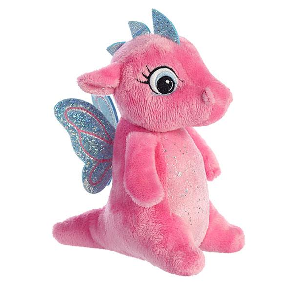 Фото - Aurora 170776F Аврора Дракончик розовый, 16 см мягкие игрушки spiegelburg дракончик mira 30 см