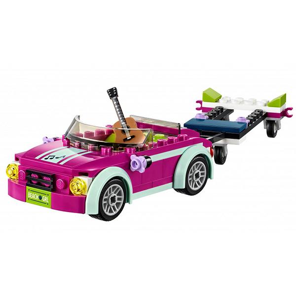 Лего Подружки 41316 Конструктор Скоростной катер Андреа