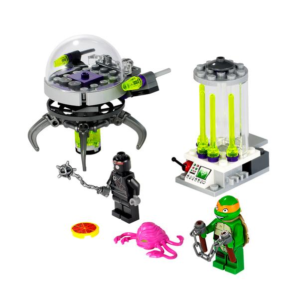 Lego Teenage Mutant Ninja Turtles 79100_1 Конструктор Лего Черепашки Ниндзя Побег из лаборатории