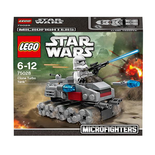 Lego Star Wars 75028 Конструктор Лего Звездные войны Турботанк клонов