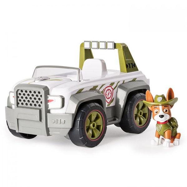 Paw Patrol 16601-Track Щенячий патруль Машинка спасателя и щенок paw patrol фигурка щенок спасатель marshall