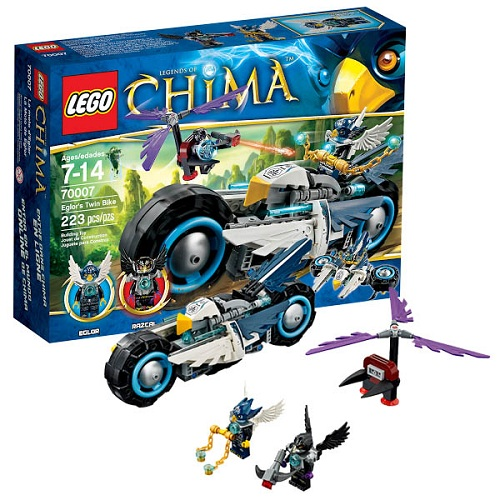 Лего Legends of Chima 70007 Конструктор Байк Орла Эглора