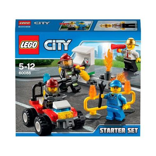 LEGO City 60088 Конструктор ЛЕГО Город Пожарная охрана для начинающих