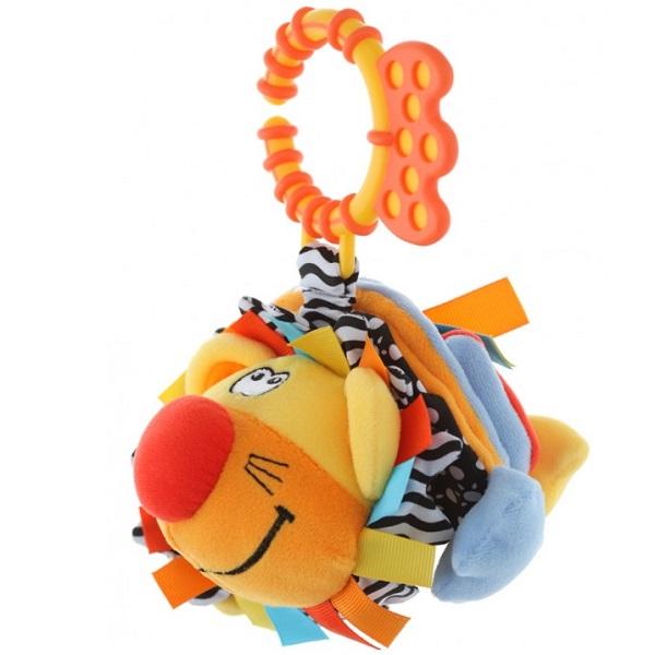 Фото - ROXY-KIDS RBT20016 Игрушка развивающая Лев Ру-ру с забавным смехом roxy kids rbt20014 игрушка развивающая слоненок сквикер пищалка внутри размер 18 см