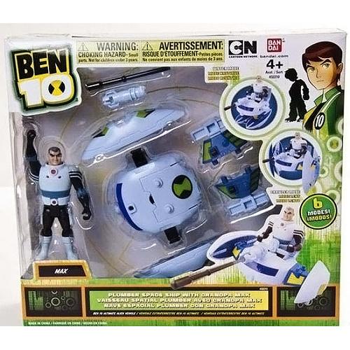 Ben10 37965 Бен 10 Сезон 3 Транспортное средство с фигуркой 10 см