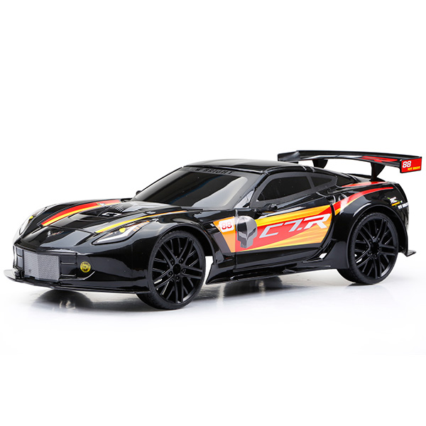 New Bright 1222-1 Игрушка р/у Corvette C7R (Чёрный) игрушка jada 2009 corvette stingray concept 84210 1