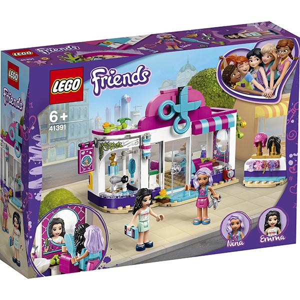 LEGO Friends 41391 Конструктор ЛЕГО Подружки Парикмахерская Хартлейк Сити
