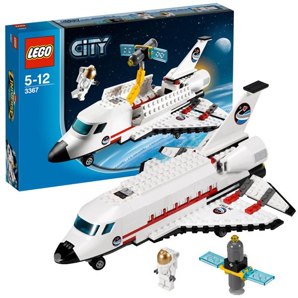 LEGO City 3367 Конструктор ЛЕГО Город Космический корабль Шаттл