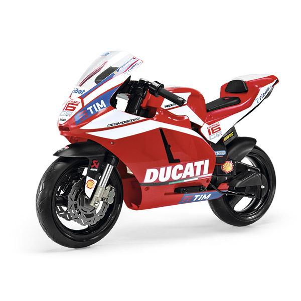 Детский электромобиль Peg-Perego MC0020 Ducati GP Rossi 2014 peg perego iakb0032 пег перего аккумулятор 12v 4 5ah