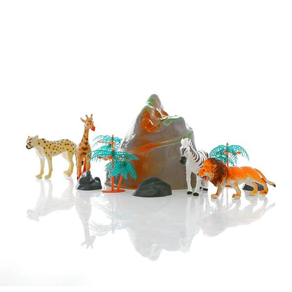 HGL SV3472 Игровой набор диких зверей в тубе