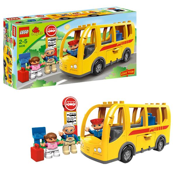 Lego Duplo 5636 Конструктор Лего Дупло Автобус