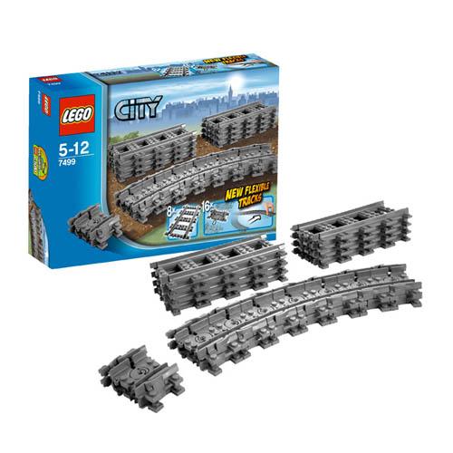LEGO City 7499_1 Конструктор ЛЕГО Город Гибкие пути
