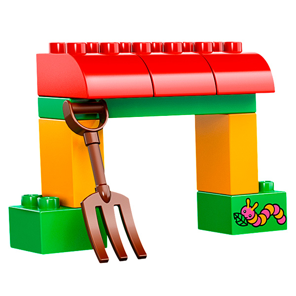 Лего Дупло 10524 Конструктор Сельскохозяйственный трактор