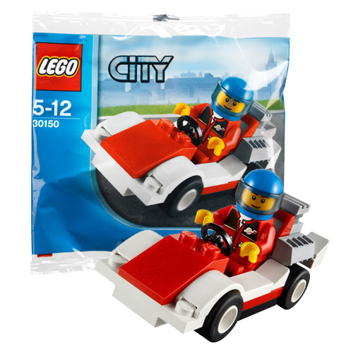 LEGO City 30150 Конструктор ЛЕГО Город Гоночный автомобиль