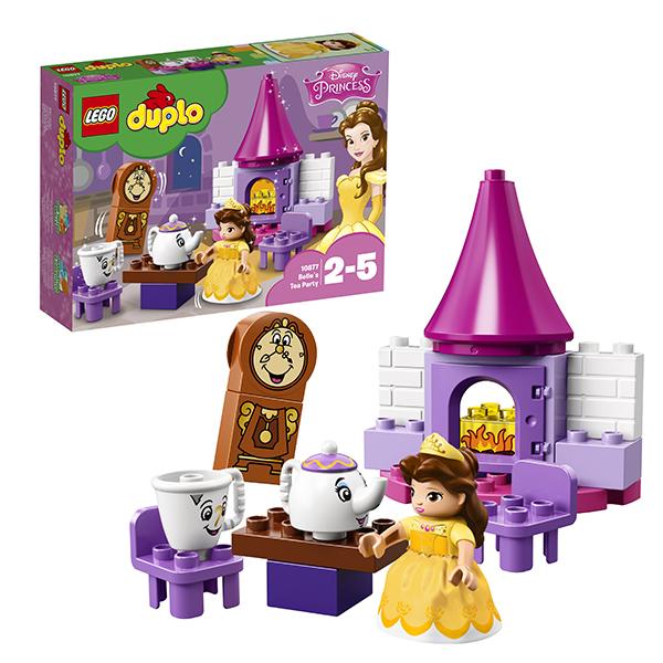 Lego Duplo 10877 Конструктор Лего Дупло Чаепитие у Белль конструктор lego brick headz белль 41595