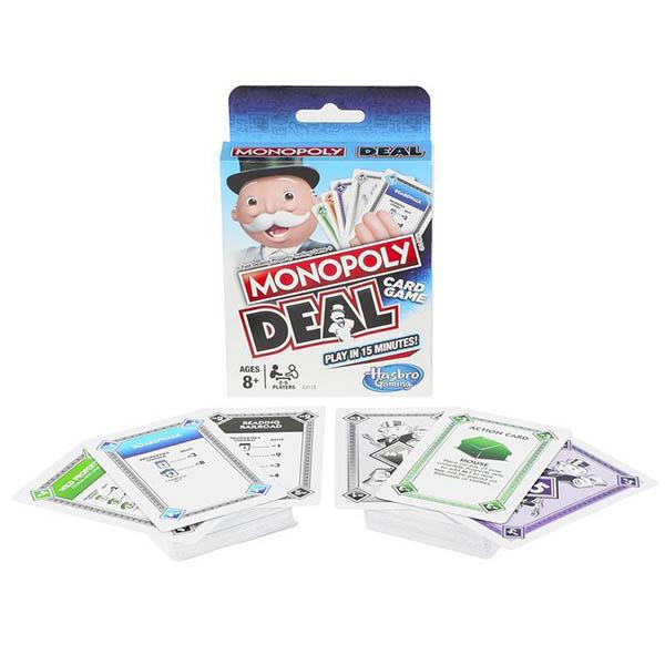 Hasbro Monopoly E3113 Настольная игра карточная Монополия СДЕЛКА стоимость