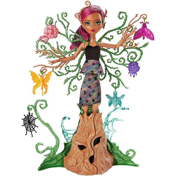 Mattel Monster High FCV59 Цветочная монстряшка Триса куклы монстер хай катрин демяу наложенным платежом