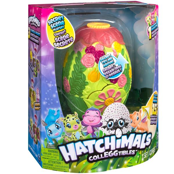 """Hatchimals 19126 Хетчималс Игровой набор с коллекционными фигурками """"Волшебное превращение"""""""