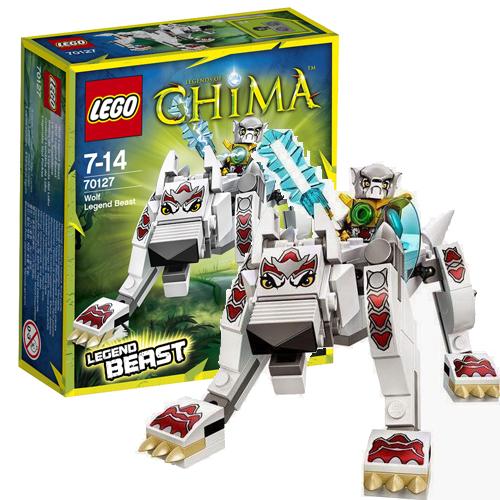 Лего Legends of Chima 70127 Конструктор Легендарные Звери: Волк