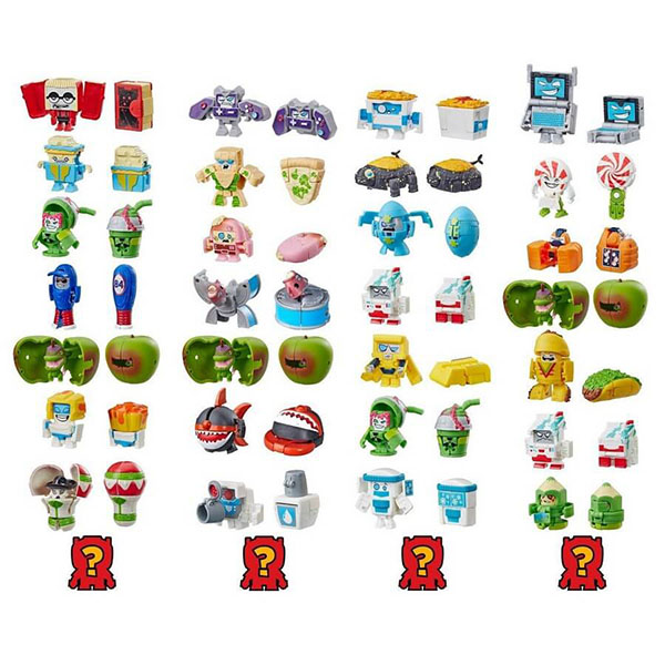 роботы transformers hasbro трансформеры 5 movie уан степ Hasbro Transformers E4906 Трансформеры Набор 8 ботов из Садовой банды