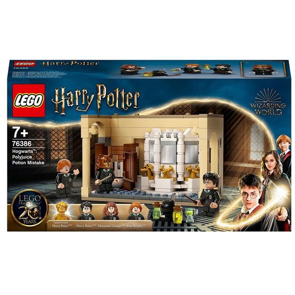 LEGO Harry Potter 76386 Конструктор ЛЕГО Гарри Поттер Ошибка с оборотным зельем