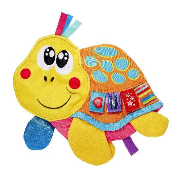 CHICCO TOYS 7895AR Развивающая игрушка Черепаха мягкая игрушка chicco 92408