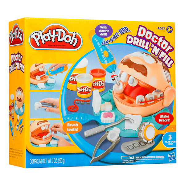 """Hasbro Play-Doh 37366 Набор """"Мистер Зубастик"""""""