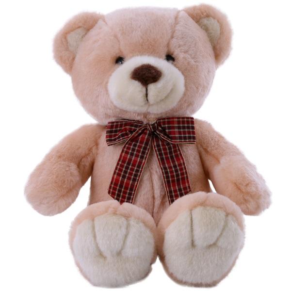 SOFTOY C1709324-2 Медведь персиковый 32 см