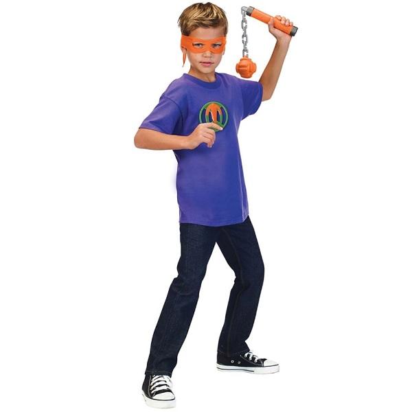 Черепашки Ниндзя 82053 Боевое оружие Микеланджело Мистический кусари-фундо, серия ROTMNT